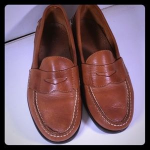 Great Pair  Men Sperry Penny Loafer  Size10  Tan